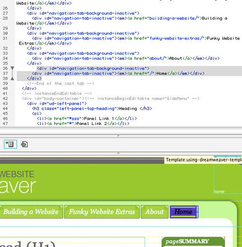 create a web page from a dreamweaver template using dreamweaver